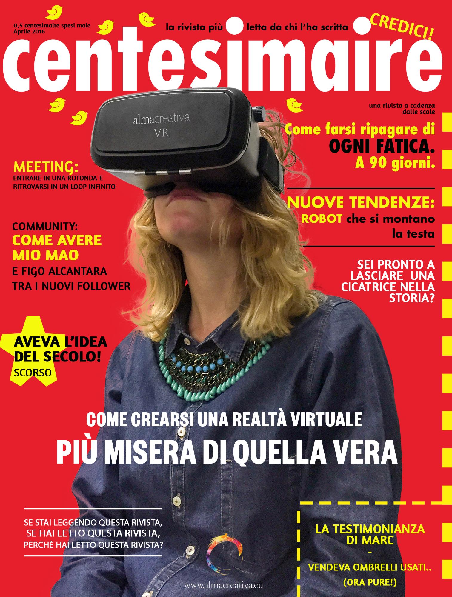 Centesimaire – il numero di Aprile 2016