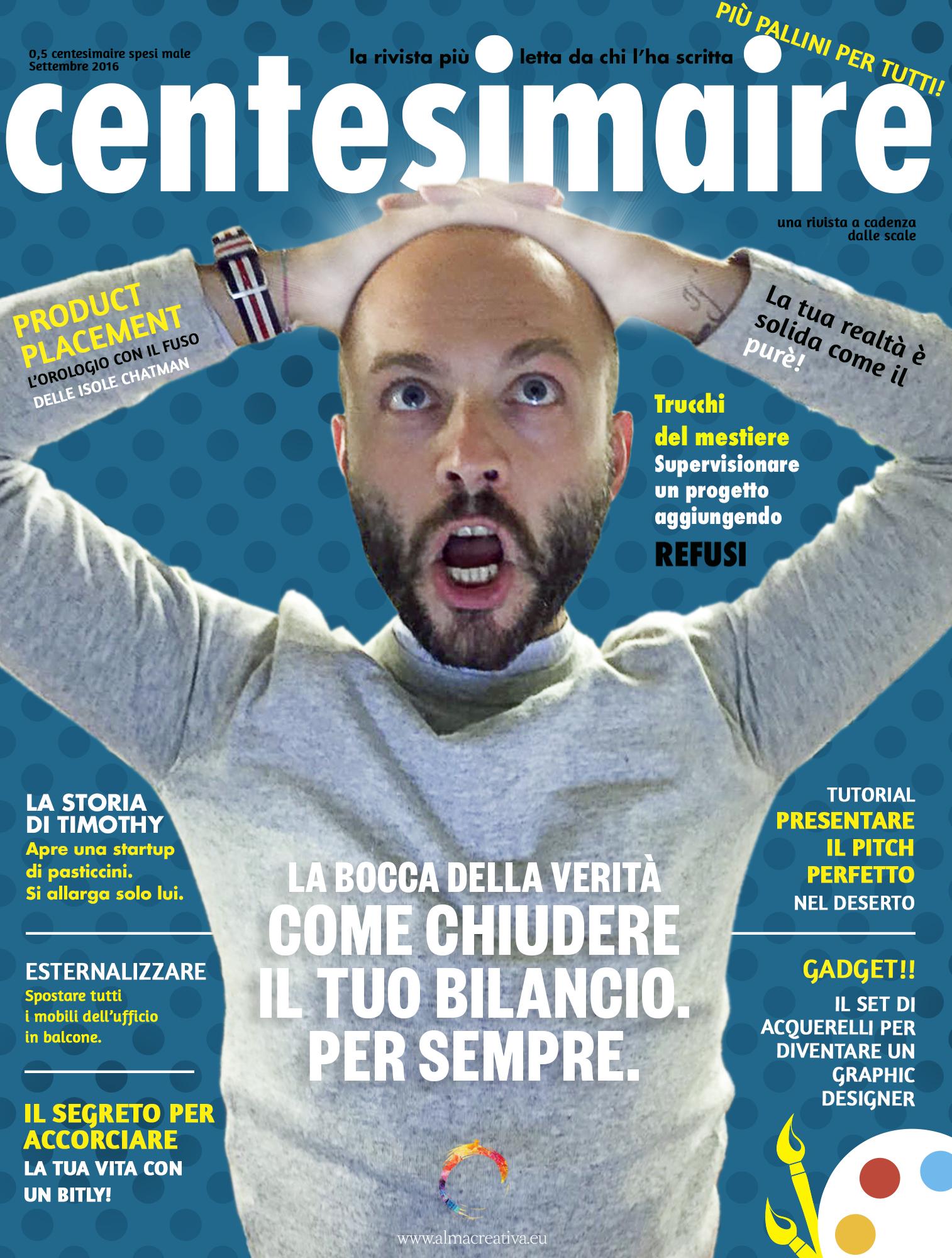 Centesimare – il numero di settembre 2016