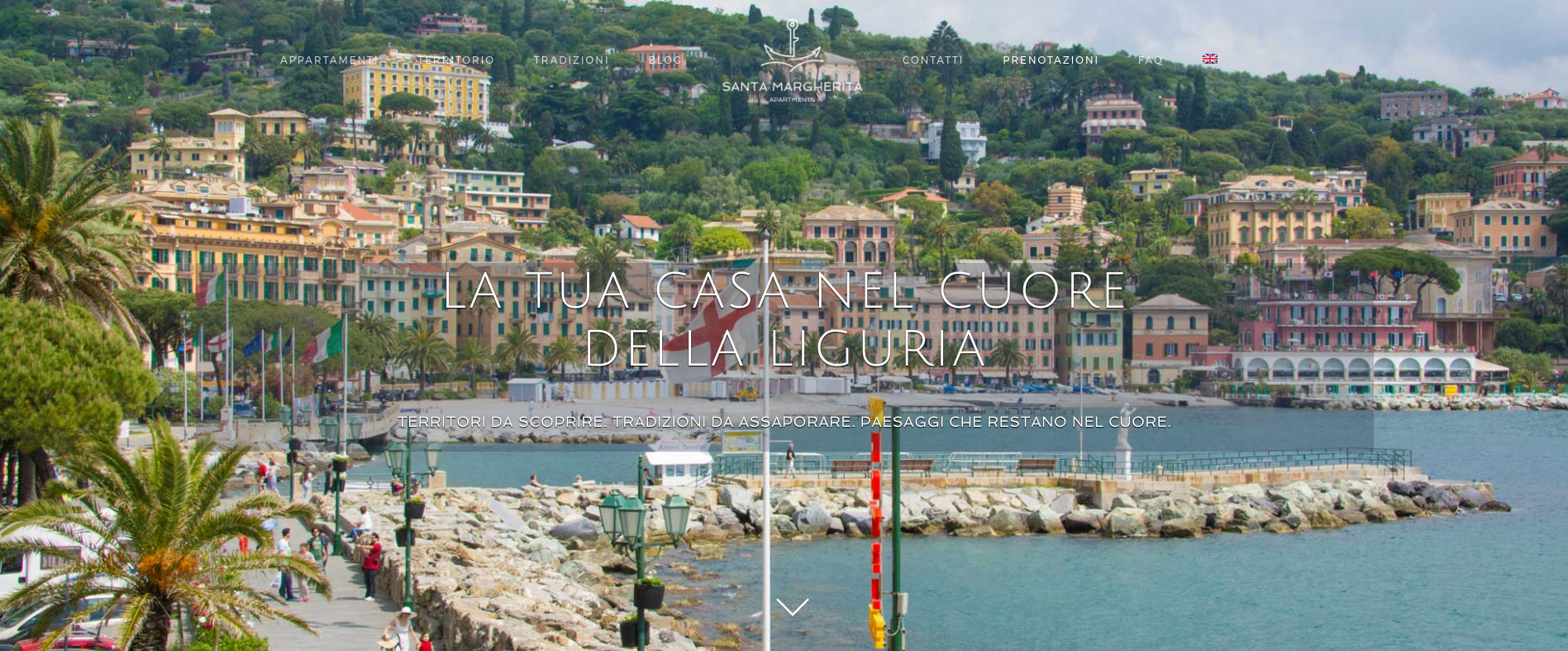 Santa Margherita Apartments – un nuovo sito tutto da navigare!