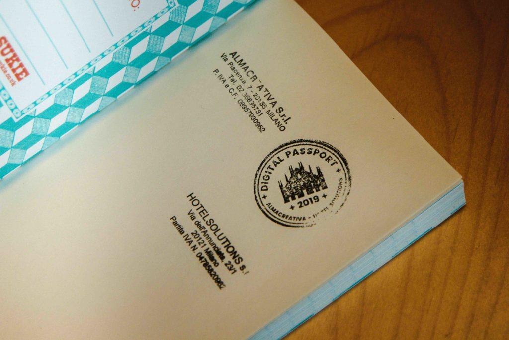 Digital passport Almacreativa
